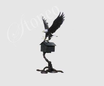 Skrzynka pocztowa z orłem