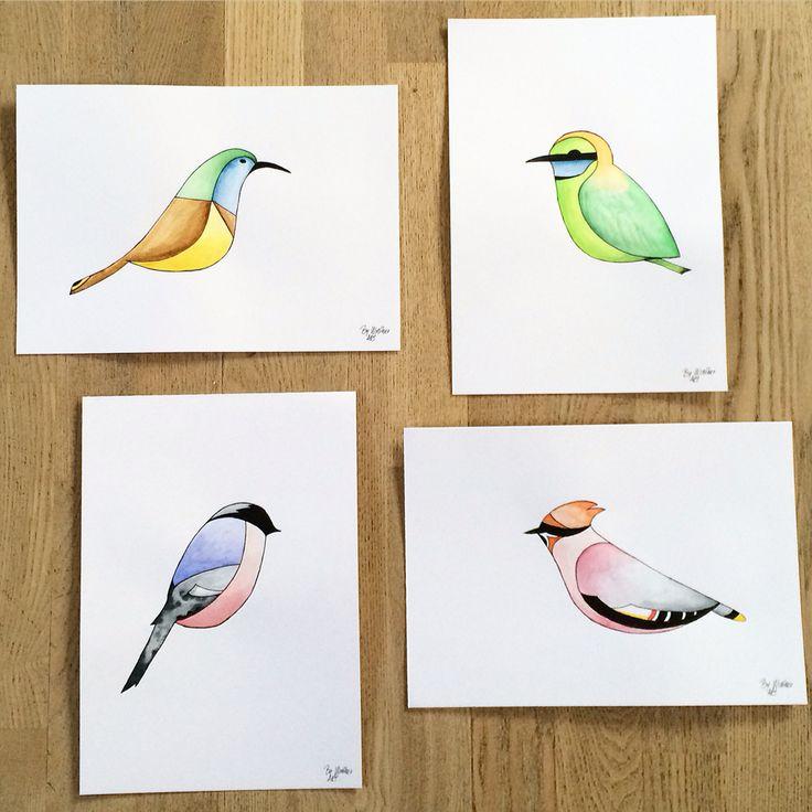 Mine små fugle
