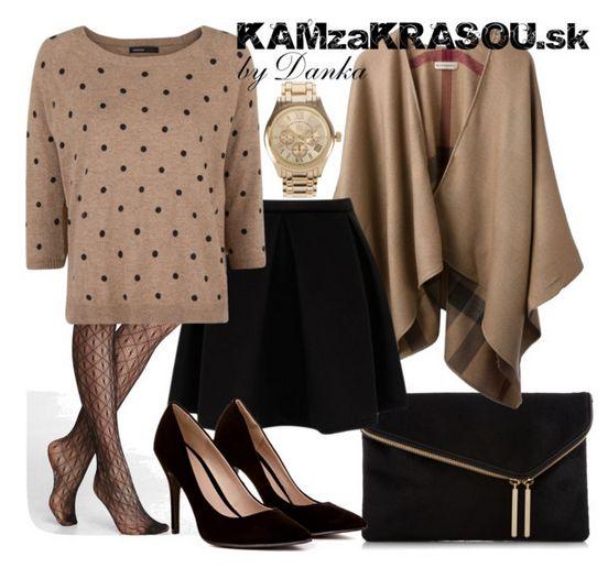 Bodkovaný svetrík - KAMzaKRÁSOU.sk #dots #skirt #prettylook