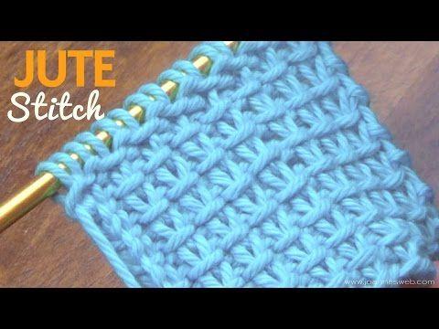 Jute Stitch - YouTube