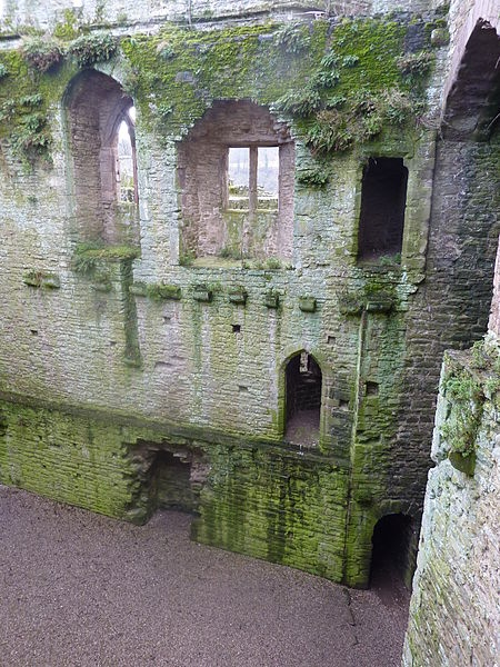Ludlow Castle interior - 'The Smile of a Ghost' - photo by Gary Bembridge