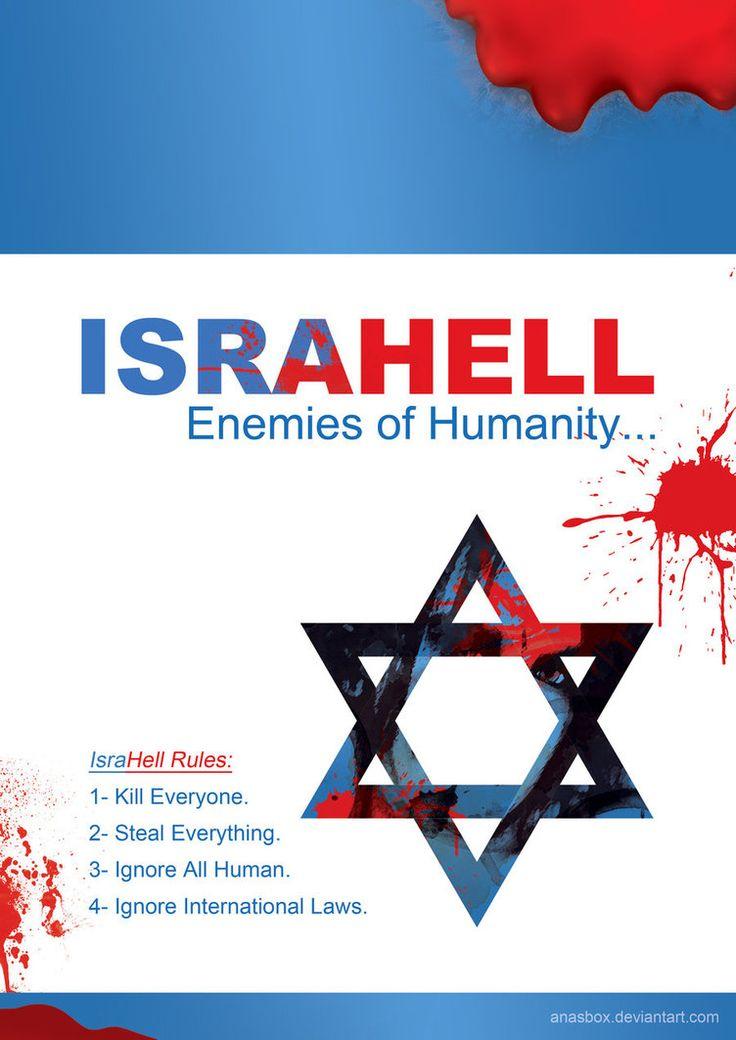 #israHELL #freePALESTINE