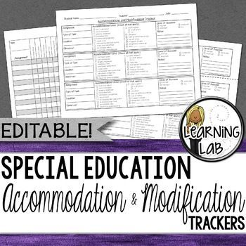 Particular Training – Lodging and Modification Tracker – EDITABLE