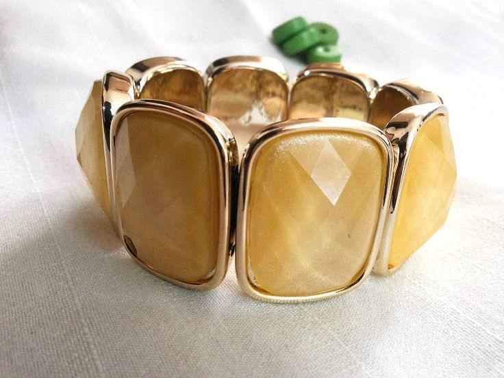 Trendy bracelet with Yellow embellishments in Brass finish only for Rs. 399 - Free Shipping  For more details, visit http://www.flea91.com/Bracelet/Bracelet-with-Metallic-Yellow-Embellishment-id-660988.html