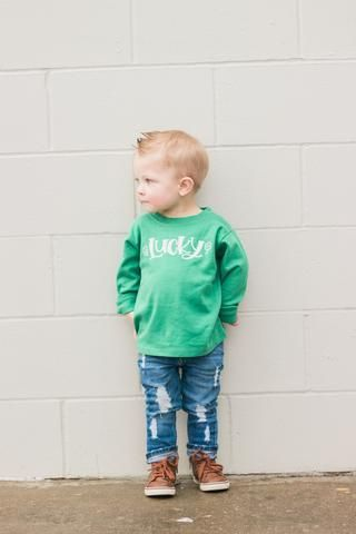 1718f44f3 7 Lucky Baby Boy St. Patrick's Day Outfit Ideas for Newborns through  Toddlers   St. Patrick's Day   St patrick day shirts, Baby boy outfits, Boys