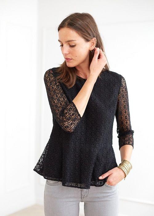 Blouse Swing - Lookbook Automne Hiver - www.sezane.com  #sezane #lookbook #blouse #swing