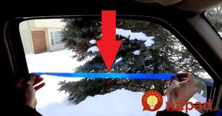 Toto je úplne najlepší trik proti zahmleným oknám v aute: Funguje to rovnako, ako prípravky z obchodu!