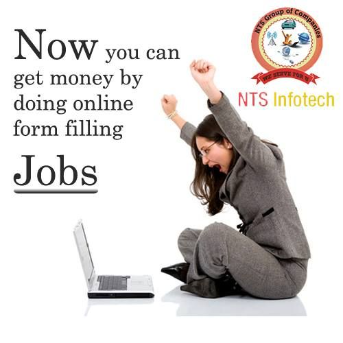 You can make #more money by doing #online form #filling #jobs at NTS Infotech view more @ http://www.ntsinfotechindia.com/