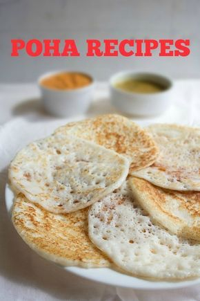 collection of 14 poha recipes. poha also known as parched rice or flattened rice is a commonly used ingredient in indian cuisine. from poha various recipes can be made for breakfast as well as snacks. two