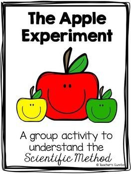 Free: Students can interpret the Scientific Method by completing this activity in pairs or individually for an authentic assessment. Students will read through the Apple Experiment and put the steps in order according to the Scientific Method. Then, students will glue the steps down with arrows pointing to next step to create a flow chart.
