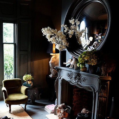 52 best images about tudor style on pinterest fireplaces for Tudor style fireplace