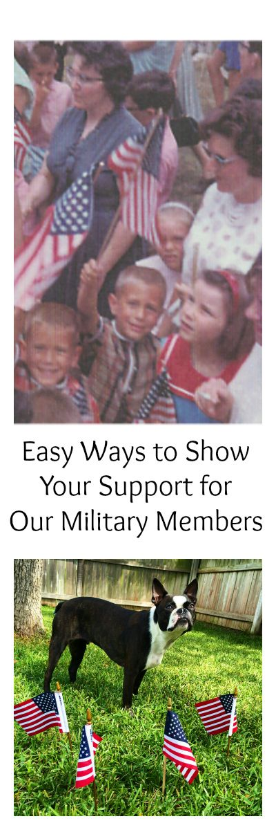 Easy ways to Thank a Military Service Member. Looking for ways to Thank a Military Service Member? This article shows several easy ways to say thanks for their sacrifice. Also includes companies that offer benefits to veterans. #military #DECares #militaryspouse #Veterans #ad