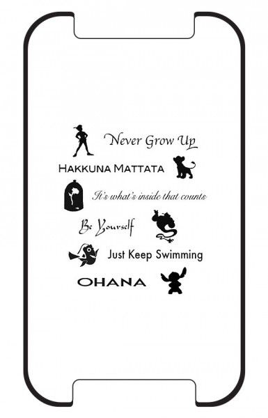 Disney Lessons Learned iphone 5 Case