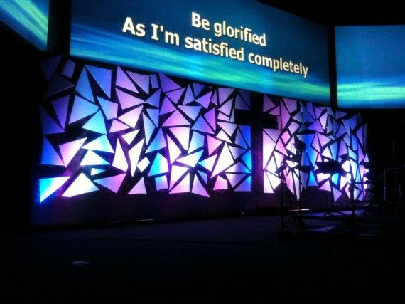Stage Design Ideas posted Break The Looking Glass Church Stage Design Ideas