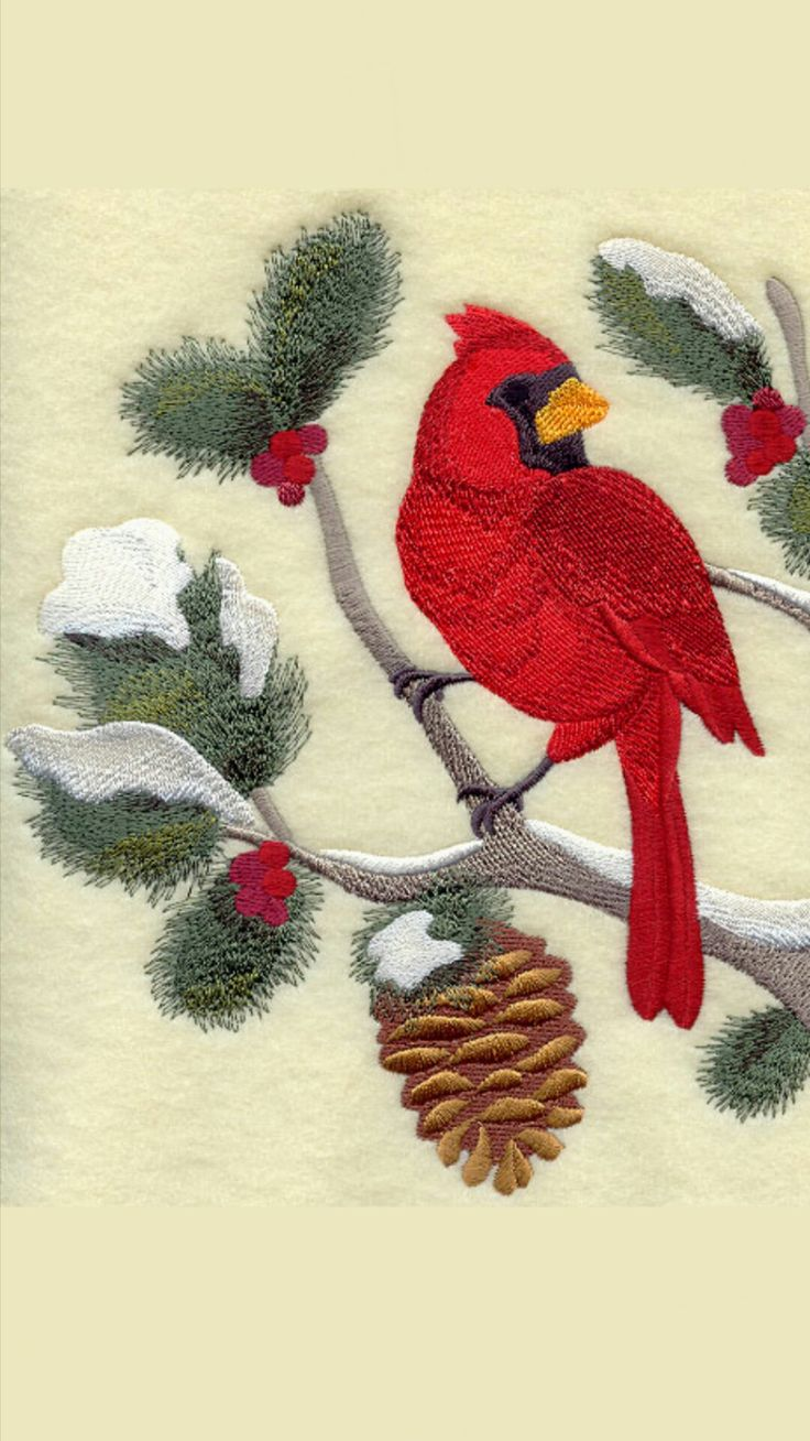 2039 best embroidery (birds) images on Pinterest ...