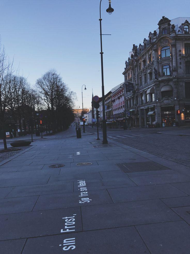 Karl Johan Street, Oslo, Norway