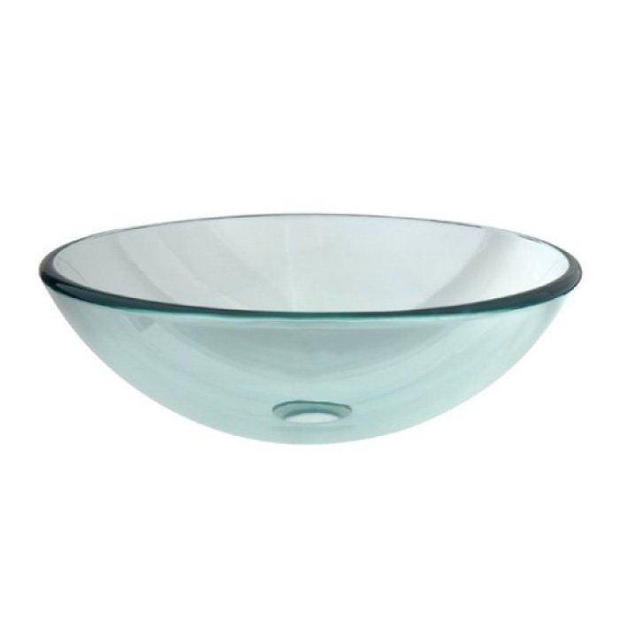 Shop Kingston Brass  EVS Temper Glass Vessel Sink at The Mine. Browse our vessel sinks, all with free shipping and best price guaranteed.