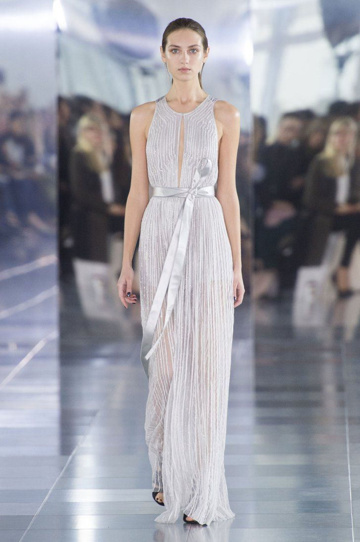 Pin for Later: Amanda Wakeley's Going Strong but Delicate For Spring 2016 Amanda Wakeley Spring 2016