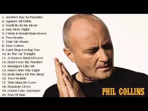 Phil Collins: Best Songs Of Phil Collins Live Collection - YouTube