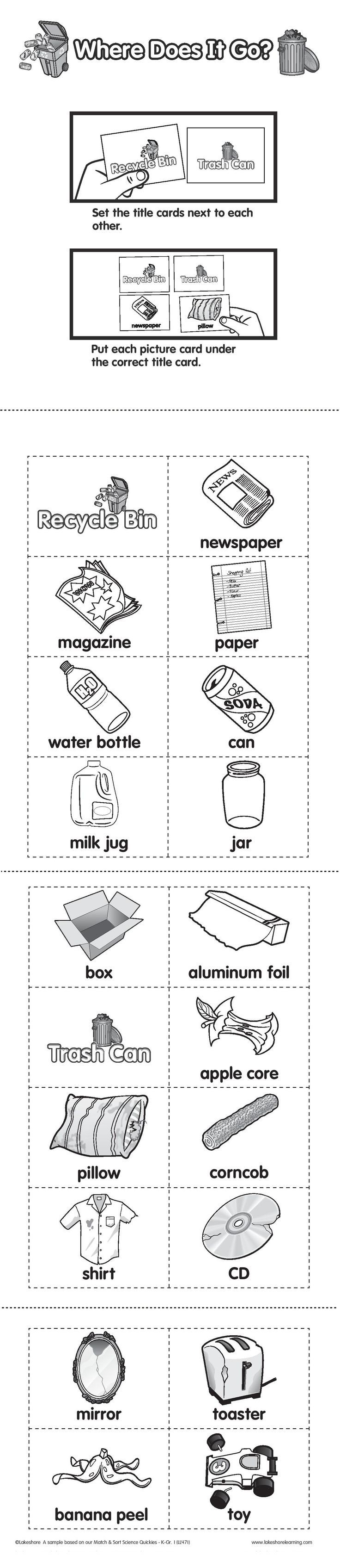 Uncategorized Recycling Worksheets 29 best lesson plans recycling images on pinterest