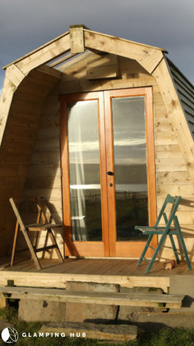 Family-Friendly Wooden Pod Rentals on Farm in North Essex