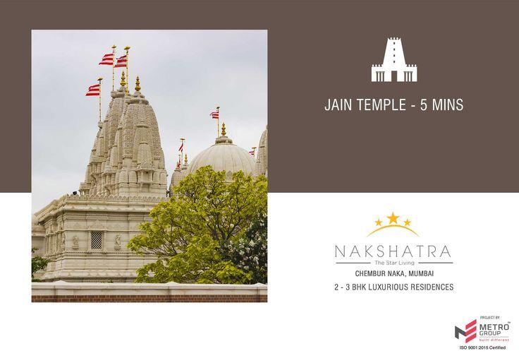 Nakshatra - The Star Living 2 & 3 BHK in the heart of Chembur Jain Temple - 5 mins www.metrogroupindia.com #Nakshatra #RealEstate #MetroGroup #Chembur #Mumbai