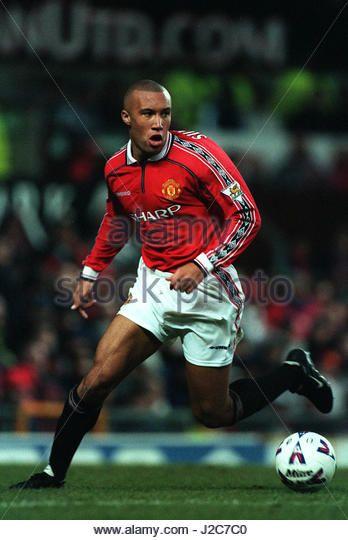 Mikael Silvestre of Man Utd in 1999.