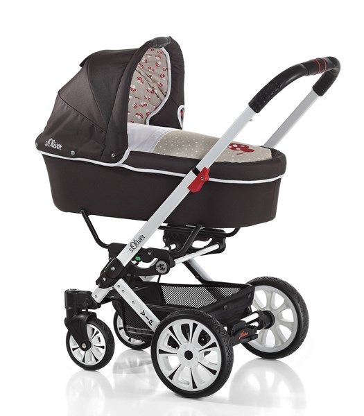 #Hartan #Vip XL #Kombi #Kinderwagen in dem Design s.Oliver 562