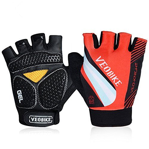 Padded Specialized Body Geometry Gloves For Mens/Womens Mountain Biking Safety Driving Road Bike Cycling Jogging Gym Workout Hiking Climbing Mtb BMX Gloves Outdoor Research Mittens (Red-chevalier, L) -- Check out this great product.