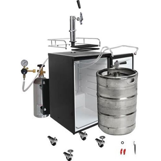The beer kegerator provided by Beverage Time is an ideal refrigerated appliance for storing and serving draft beer. The kegerators come in a variety of sizes and shapes, and a properly functioning kegerator keeps the beer chilled.