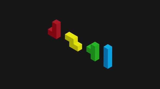 Tetris Figurines Colorful Wallpaper Hd Vector 4k Wallpapers Images Photos And Background Tetris Design Colorful Wallpaper Wallpaper