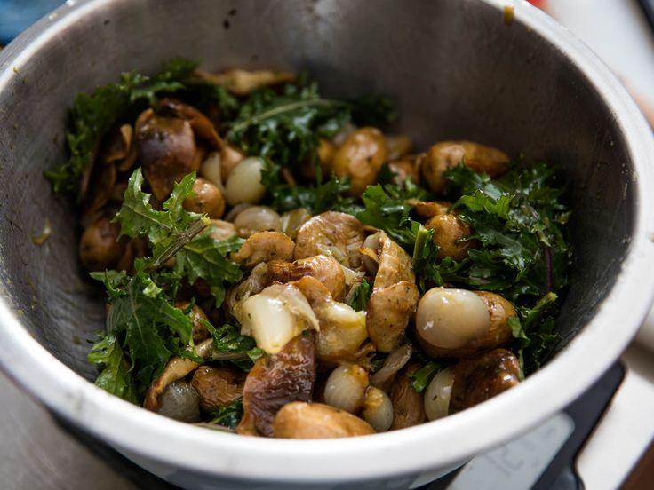 ... Roasted Potato and Kale Salad With Marinated Mushrooms | Serious Eats