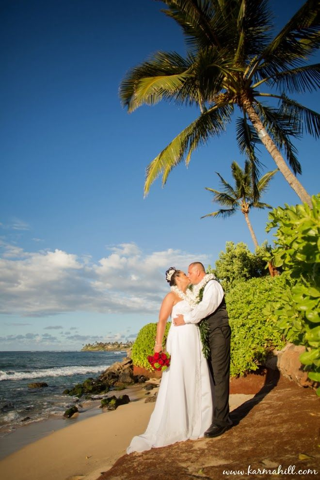 Tavares Beach Is A Beautiful Location For Maui Wedding By Simple