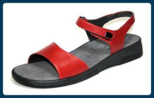 Ganter Sonnica 5.202851 Damen Sandalen, Weite E (8 / 42, rot) - Sandalen für frauen (*Partner-Link)