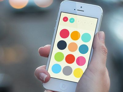Colour Memory iPhone Game Concept