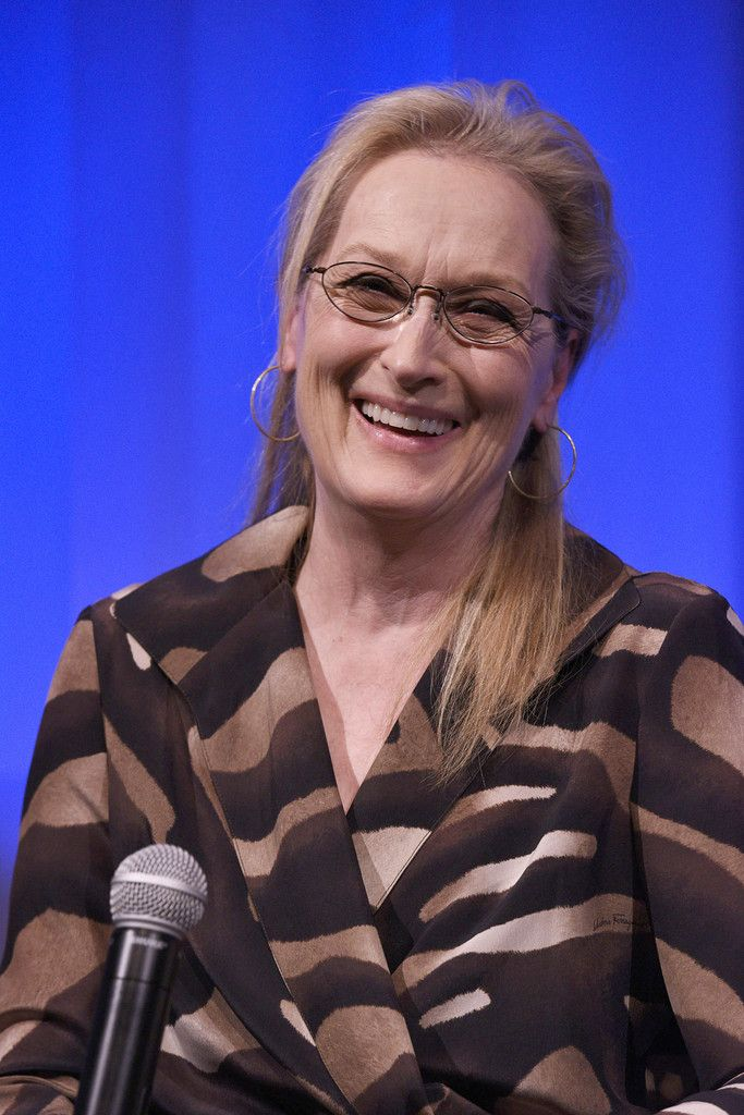 Meryl Streep attends the The Academy Of Motion Picture Arts And Sciences Hosts An Official Academy Members Screening Of INTO THE WOODS at The Academy Theatre at Lighthouse International on December 9, 2014 in New York City.