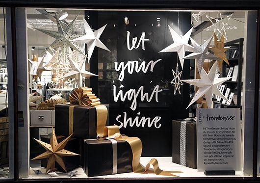 Christmas display inspiration: Trendenser + Granit = Sant | Trendenser