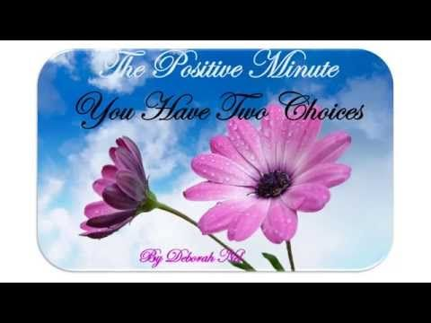 Vision and Purpose The Positive Minute - YouTube
