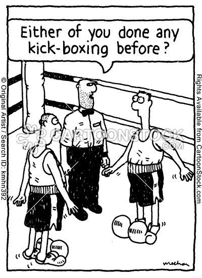 kick+box+cartoon | kick boxing cartoons, kick boxing cartoon, funny, kick boxing picture ...