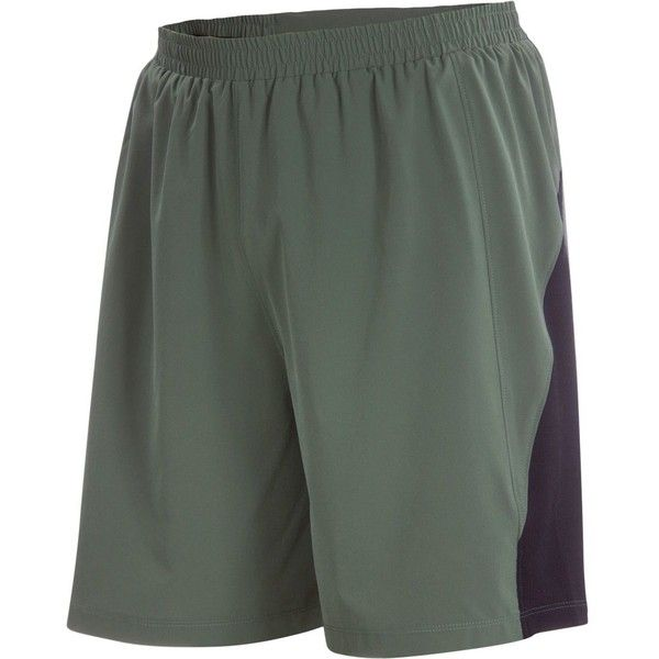 Ibex Pulse Short ($85) ❤ liked on Polyvore featuring men's fashion, men's clothing, men's activewear, men's activewear shorts, mens activewear shorts and mens activewear