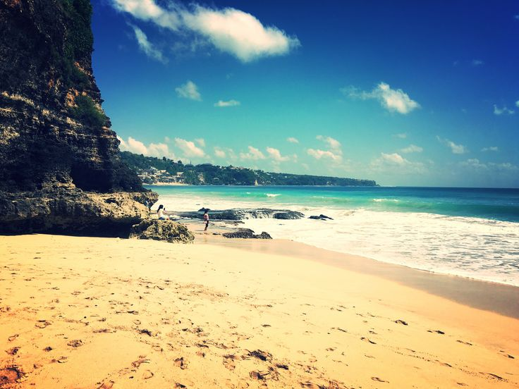 What a view, Dreamland Beach