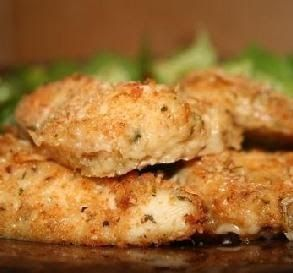 Weight Watchers Parmesan Chicken Cutlets - This chicken tastes so great that it is great to have for dinner even when you're not on a diet