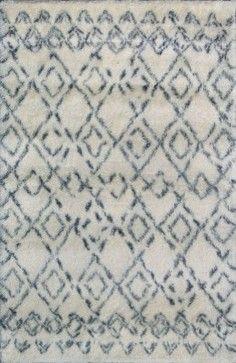 Rugsville  Moroccan Beni Ourain  Beige 12186 Wool Rug, Tan & Ivory, 9'x12' mediterranean-rugs