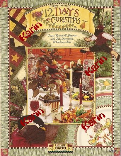 Debbie Mumm - 12 Days off Christmas - Diz Mary Mary - Picasa Web Albums... FREE BOOK, PATTERNS AND INSTRUCTIONS!