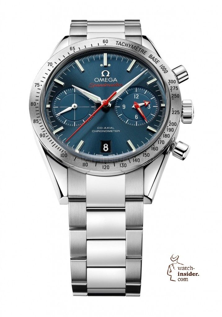 www.watch insider.com | reportages news  | The Omega Speedmaster'57 Co Axial Chronograph  | Omega Speedmaster57 41.5mm ST 331.10.42.51.03.00...