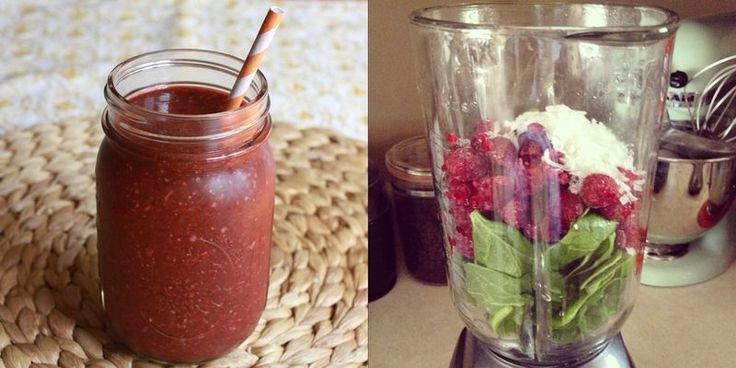 Will try: raspberrie, coconut, spinach smoothie