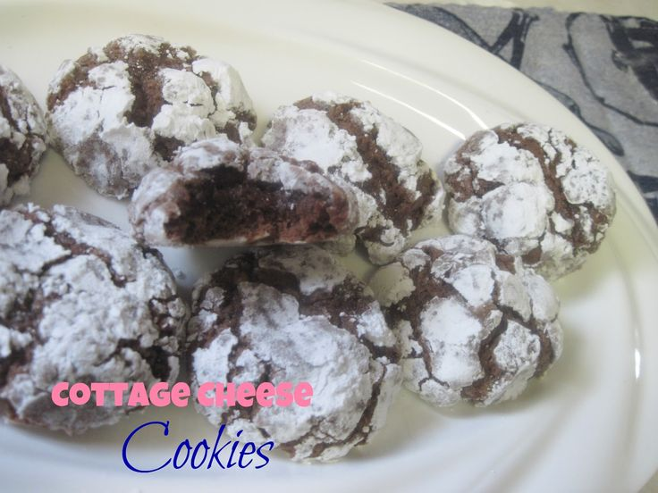 The Better Baker: (Chocolate) Cottage Cheese Cookies {Really!}