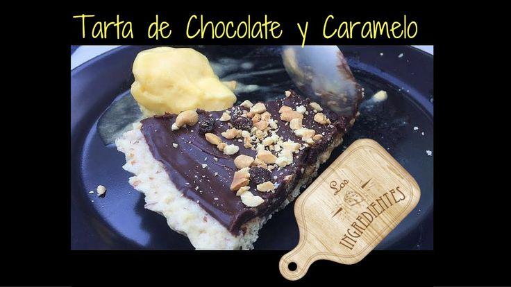 Tarta de chocolate y caramelo con base de almendras _ Los Ingredientes, Te invitamos a suscribirte en nuestro canal de Youtube: Los Ingredientes, haciendo clic en el siguiente enlace: www.youtube.com/... Visita la Receta completa en Youtube