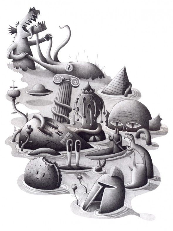 Drawings / Nicolas Barrome | AA13 – blog – Inspiration – Design – Architecture – Photographie – Art