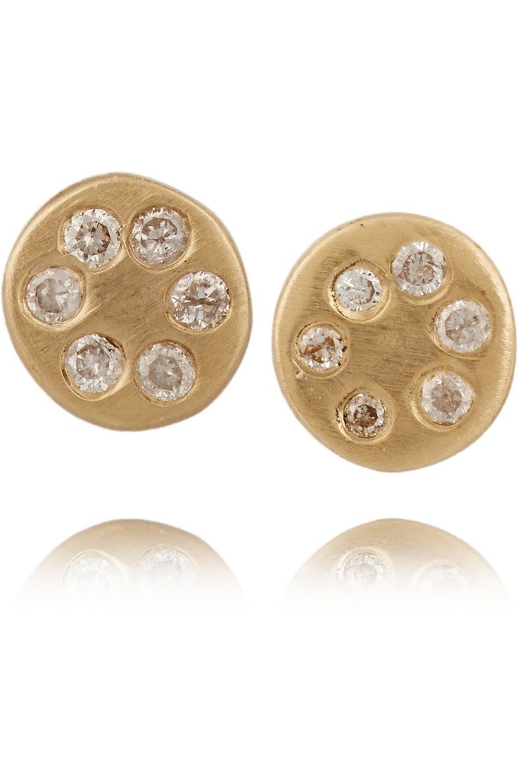 SCOSHA Ohrringe aus 10Karat Gold mit Diamanten NET-A-PORTER.COM